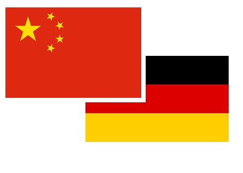 Chinese German flag